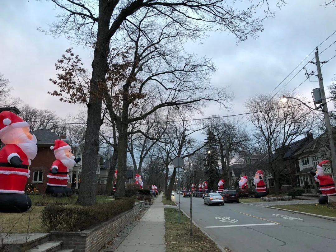 多伦多这个社区火了!每年圣诞前后,居民