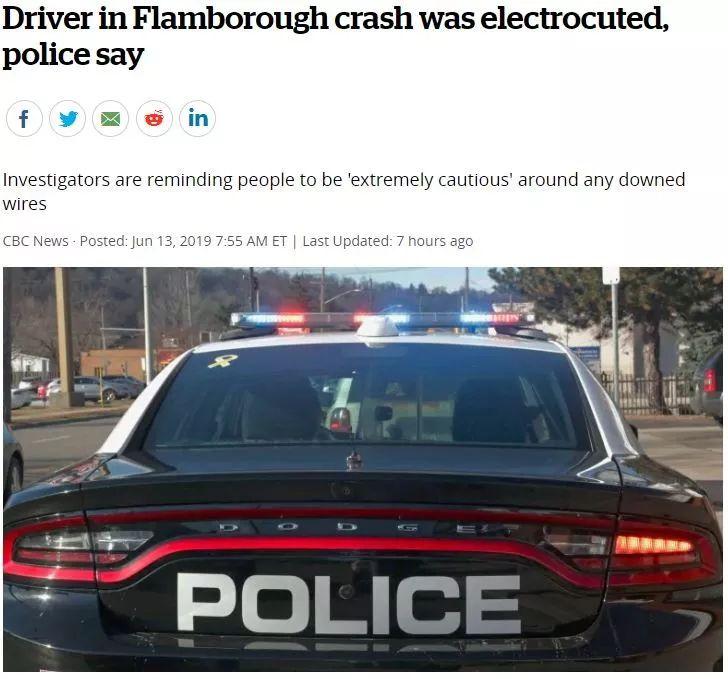 悲剧!加拿大21岁小哥撞车没有受伤,但走