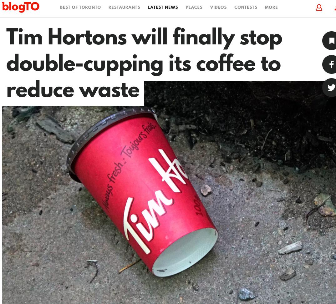 Tim Hortons 10月免费咖啡抽奖来了!2021