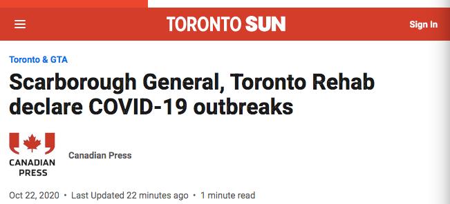 大多地区又两家医院爆发疫情!士嘉堡这家