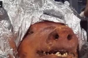 乘客行李箱惊现大猪头,这是谋杀+走私二